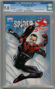 Superior Spider-man #16 Fan Expo Stan Lee Variant CGC 9.8 Marvel comic book